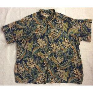 Tori Richard Hawaiian Shirt Sz 5XB Lawn USA NEW
